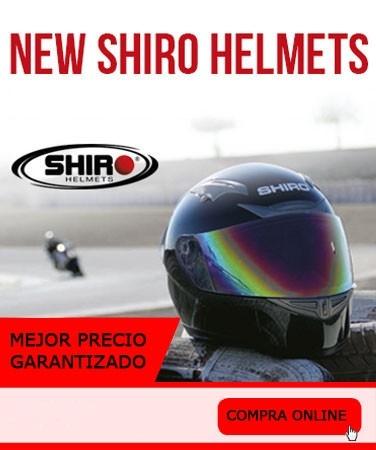 Mejor precio en cascos shiro